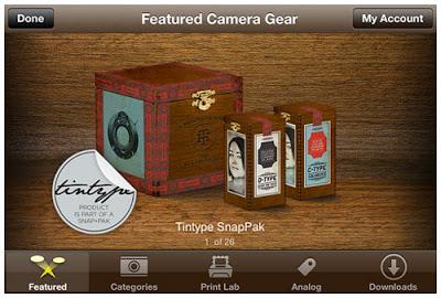 Tintype SnapPak ScreenShot-F-500w
