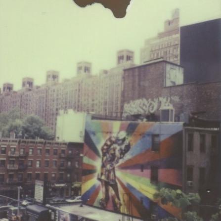High Line mural