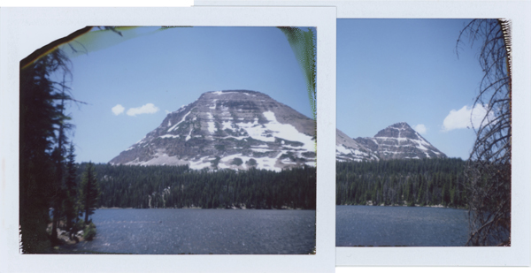 My iPhone was dying and I wanted a pano of Bald Mountain, so my handy colopack came to the rescue.