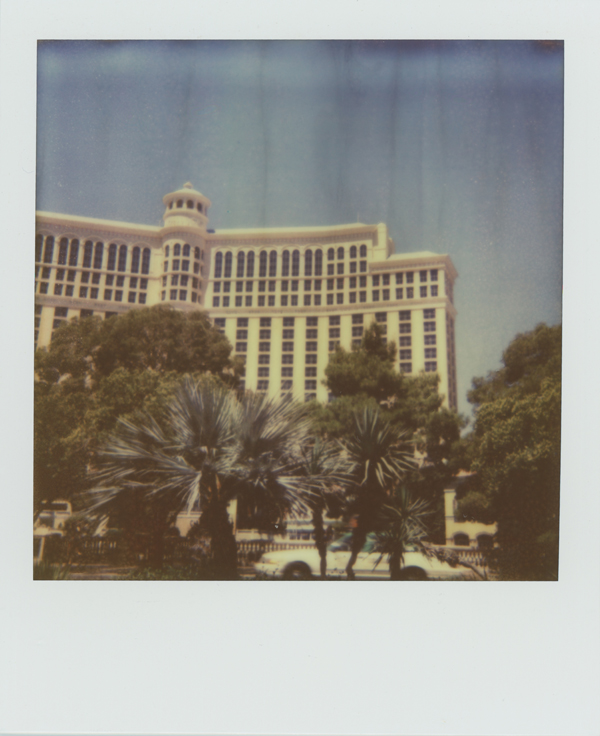 The infamous Bellagio Hotel (no, I didn't stay there–too expensive), my last shot from my stop in Vegas. I did see the fountain show... my goodness, it was spectacular.