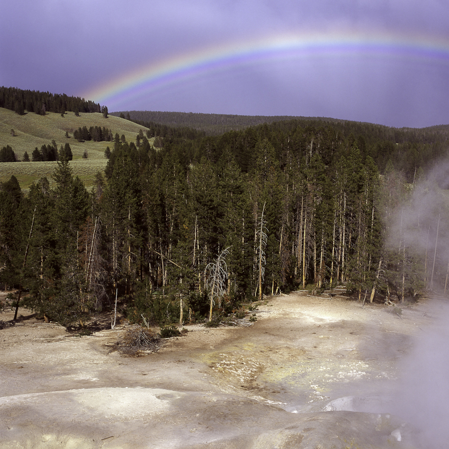 rainbow at yellowstone (1 of 1)